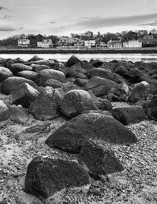 Photograph - Rockport Black And White by Patrice Bilesimo