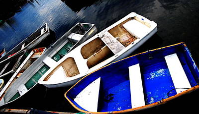 Photograph - Rockport - Boat Collection by Jacqueline M Lewis