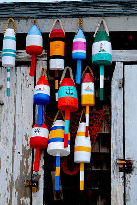 Rockport Bouys Art Print