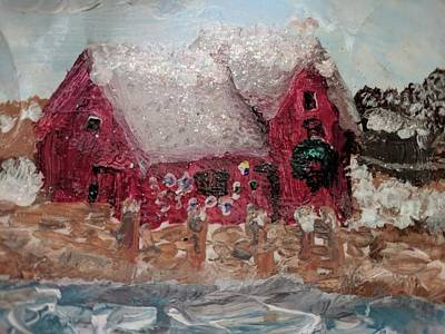 Mixed Media - Rockport Christmas 1 by Jeannine Selig