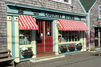 Photograph - Rockport Country Store by Lou Ford