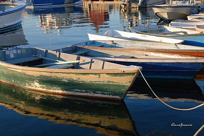 Photograph - Rockport Dinghies by AnnaJanessa PhotoArt