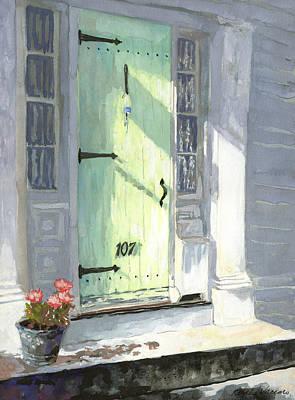 Rockport Doorway Original by Rosalie Vaccaro