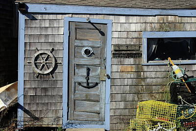 Photograph - Rockport Fishing Shack by Lou Ford