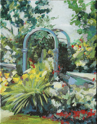 Rockport Garden Gate Art Print