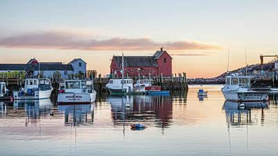 Rockport Wall Art - Photograph - Rockport Harbor - #1 by Stephen Stookey