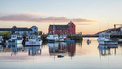 Rockport Photograph - Rockport Harbor - #1 by Stephen Stookey