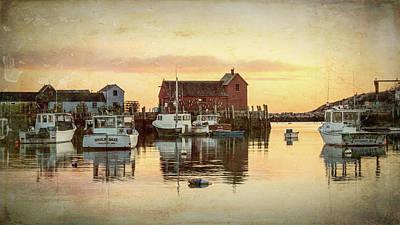 Rockport Photograph - Rockport Harbor - #4 by Stephen Stookey