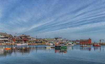 Photograph - Rockport Harbor by Brian MacLean