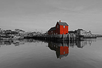 Photograph - Rockport Harbor Motif Number One by Juergen Roth