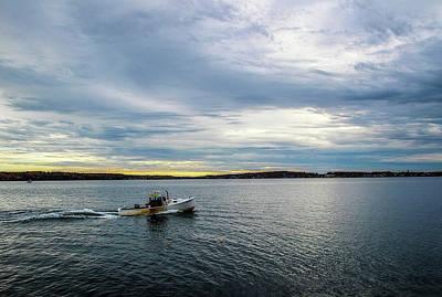 Shack Mixed Media - Rockport Harbor by Terry Davis