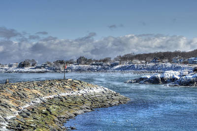 Rockport Ma Photograph - Rockport Ma Fishing Village by Joann Vitali