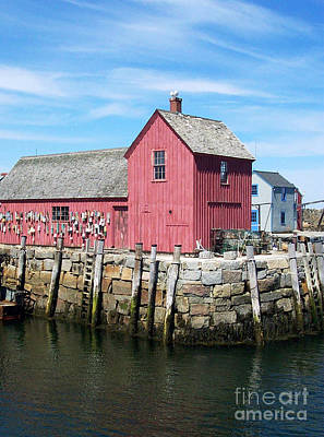 Photograph - Rockport Ma by Linda Drown