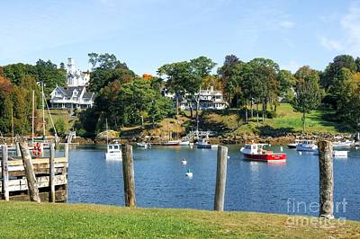 Photograph - Rockport Maine by David Birchall