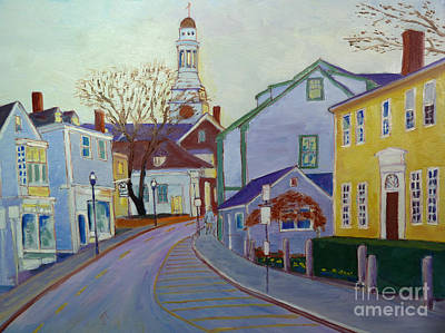 Rockport  Mass Art Print by Rae  Smith