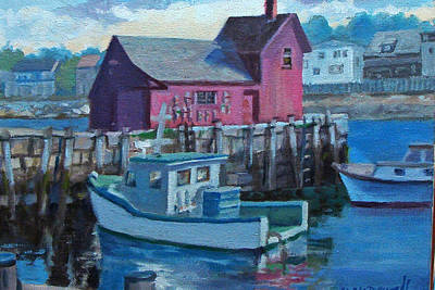 Painting - Rockport  by Michael McDougall