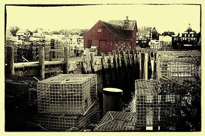 Photograph - Rockport's Motif #1 Massachusetts by Jeff Folger