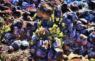 Curated Weekender Tote Bags - Rocks 10 by Kristalin Davis