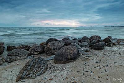 Niagara Beach Photograph - Rocks And Pebbles by Phill Doherty