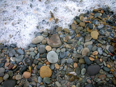 Rocks And Pebbles Art Print