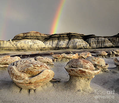 Photograph - Rocks And Rainbows by Bob Christopher