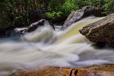 Photograph - Rocks And Rapids by James BO Insogna