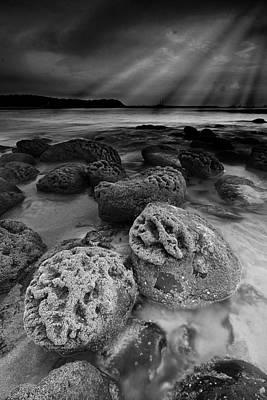 Rocks And Rays Original by Sydney Alvares