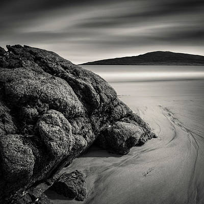 Photograph - Rocks And Ripples by Dave Bowman