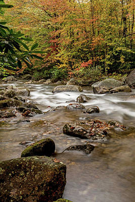 Photograph - Rocks And Running Water At Jones Gap by Willie Harper