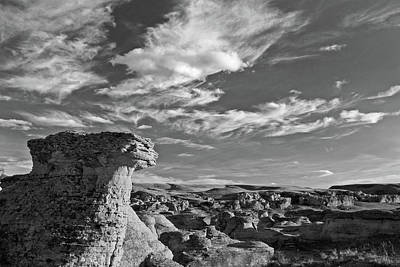 Photograph - Rocks And Sky - 365-332 by Inge Riis McDonald