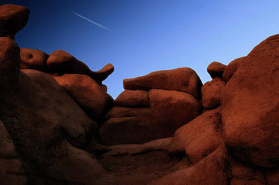Photograph - Rocks And Sky At Goblin Valley  Utah by Gary Warnimont