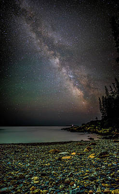Photograph - Rocks And Stars by Brent L Ander