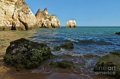 Photograph - Rocks And Three Brothers Beach In Algarve by Angelo DeVal