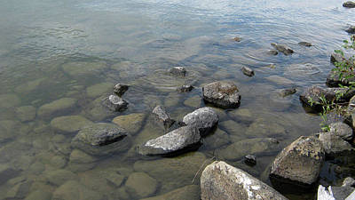 Photograph - Rocks And Water Too by Emma Frost