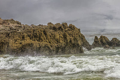 Photograph - Rocks And Water2 by Robert Hebert