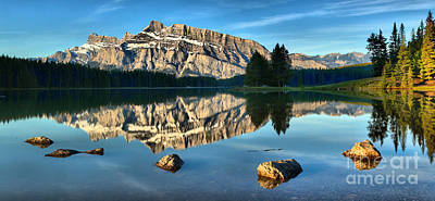Photograph - Rocks Around Rundle Panorama by Adam Jewell