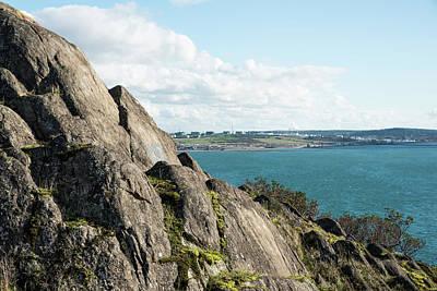 Photograph - Rocks At Cap Sante by Tom Cochran
