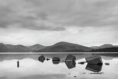 Photograph - Rocks At Loch Lomond by Veli Bariskan