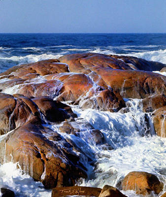 Photograph - Rocks Awash by Frank Wilson
