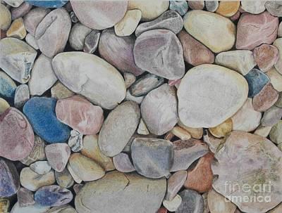Beach Rocks, Mexico Original