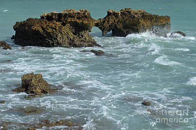 Photograph - Rocks In Aveiros Beach, Albufeira by Angelo DeVal
