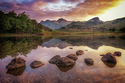 Photograph - Rocks In Blea Tarn by James Billings
