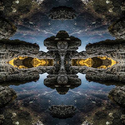 Jonny Jelinek Royalty-Free and Rights-Managed Images - Rocks in Space I by Jonny Jelinek
