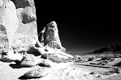 Photograph - Rocks In The Valley Of Fire by John Rizzuto