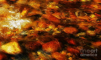 Photograph - Rocks In Water #2 by Lexa Harpell