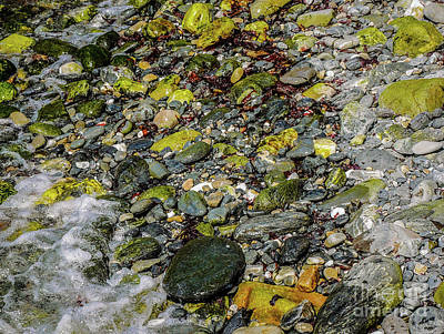 Photograph - Rocks In Water #7 by Lexa Harpell