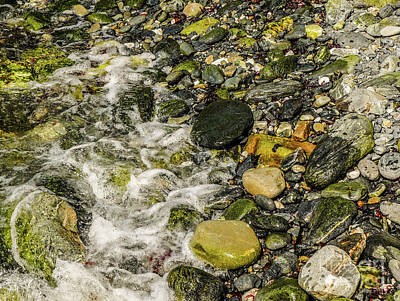 Photograph - Rocks In Water #8 by Lexa Harpell