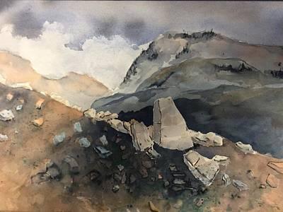 Painting - Rocks by John Svenson