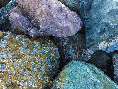 Photograph - Rocks by Jonathan Nguyen