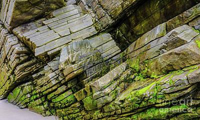 Photograph - Rocks Of Maghera Beach Ireland #12 by Lexa Harpell